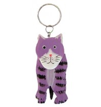 Automobile Keychain Cat