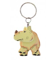 Rhino / Rhinoceros Key Chain