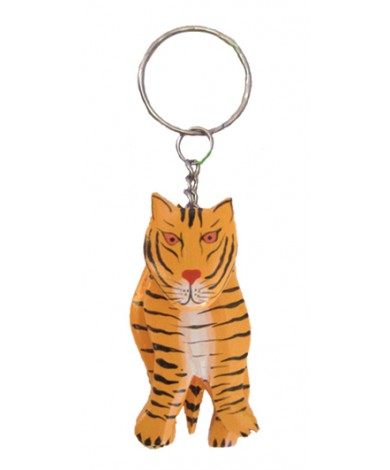 Handmade Tiger Key Chain