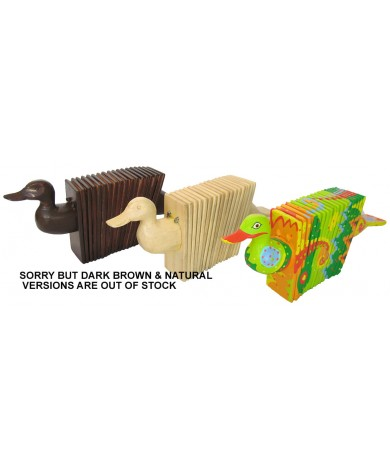 Wooden Duck Accordians