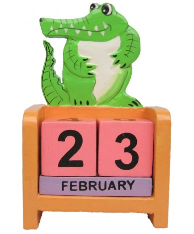 Alligator - Crocodile Perpetual Calendar