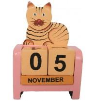 Cat Kitten - Perpetual Calendar