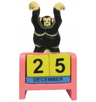 Chimp - Monkey Screened Perpetual Calendar