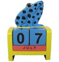 Frog Blue - Perpetual Calendar