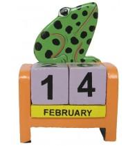 Frog Green - Perpetual Calendar