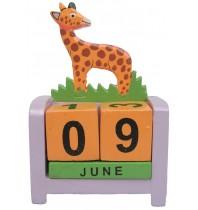 Giraffe - Perpetual Calendar