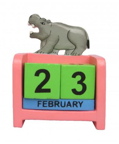 Hippo - Perpetual Calendar