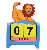 Lion - Perpetual Calendar