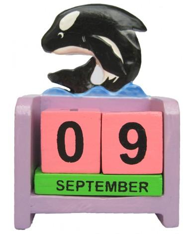 Whale Orca - Perpetual Calendar