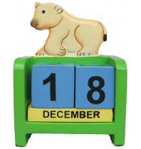 Polar Bear - Perpetual Calendar