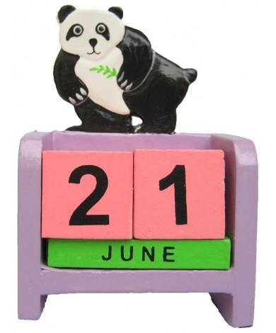 Panda Bear - Perpetual Calendar
