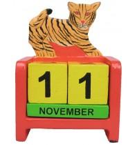 Tiger Perpetual Calendar