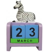 Zebra - Perpetual Calendar