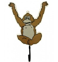 Monkey Coat Hook - Custom Wooden Coat Hooks