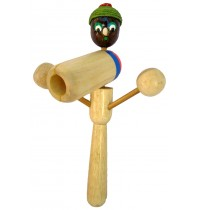 Person Toy - Handmade Wooden Drumming Percussion Instrument