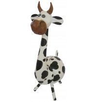 Large Black & White Cow Animal Coin - Piggybank