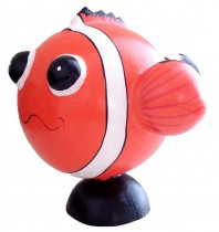 Large Orange Fish Animal Coin - Piggybank