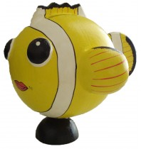 Large Yellow Fish Animal Coin - Piggybank