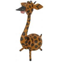 Large Tan Giraffe Animal Coin - Piggybank