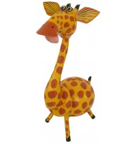 Large Yellow Giraffe Animal Coin - Piggybank