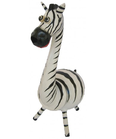 Large Zebra Animal Coin - Piggybank
