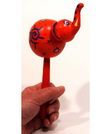 Elephant Maraca Instrument