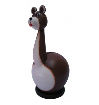 Long Neck Bear Coin Bank - Piggybank