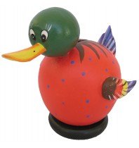 Small Red Duck Coin Bank - Piggybank