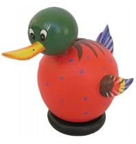 Small Red Duck Coin Bank - Piggybank