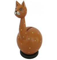 Cat Long Neck Coin Bank - Piggybank