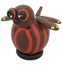 Red Dragonfly Coin Bank - Piggybank