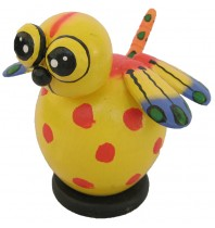 Dragonfly Yellow Coin Bank - Piggybank