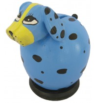 Blue Dog Coin Bank - Piggybank