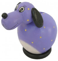 Purple Dog Coin Bank - Piggybank