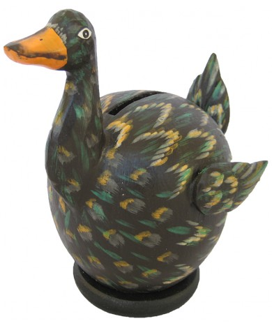 Black Duck Coin Bank - Piggybank