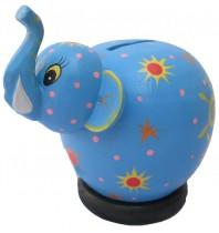 Blue Elephant Coin Bank - Piggybanks