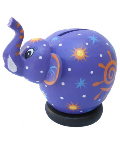 Purple Elephant Coin Bank - Piggybanks
