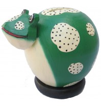 Small Green Frog - Piggybanks