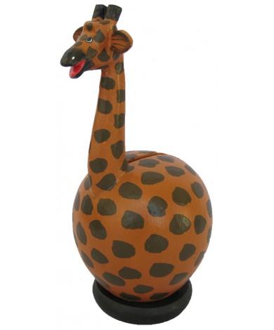 Giraffe Tan Coin Bank - Piggybank