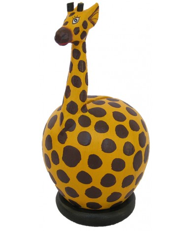 Small Yellow Giraffe Coin Bank - Piggybank
