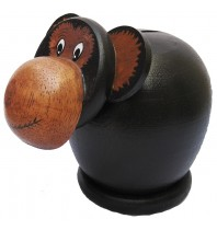 Tan Monkey Coin Bank - Piggybank