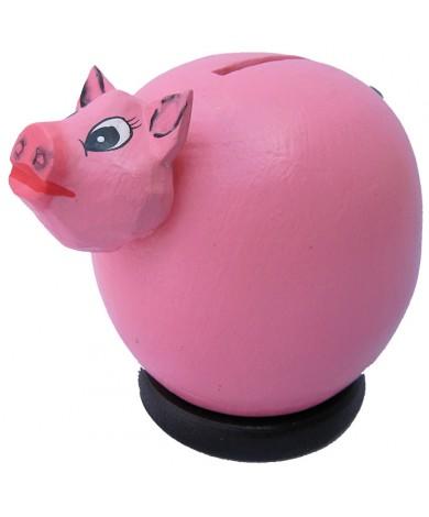 Small Pink Pig Coin Bank - Piggybank