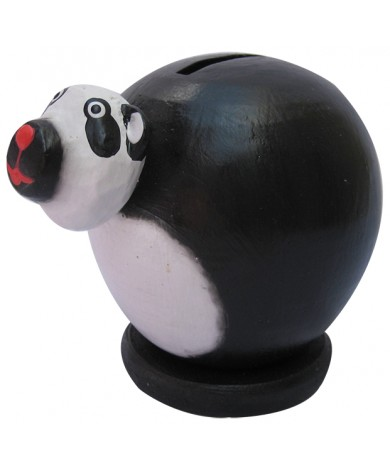 Small Panda Bear Coin Bank - Piggybank