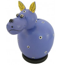 Small Purple Rhinoseros Coin Bank - Piggybank