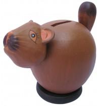 Small Squirrel Coin Bank - Piggybank
