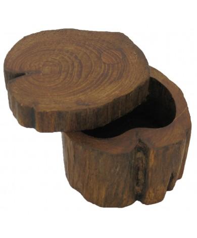Teak Log Box