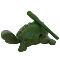 Turtle Noise Maker - Hand carved Wooden Reptile