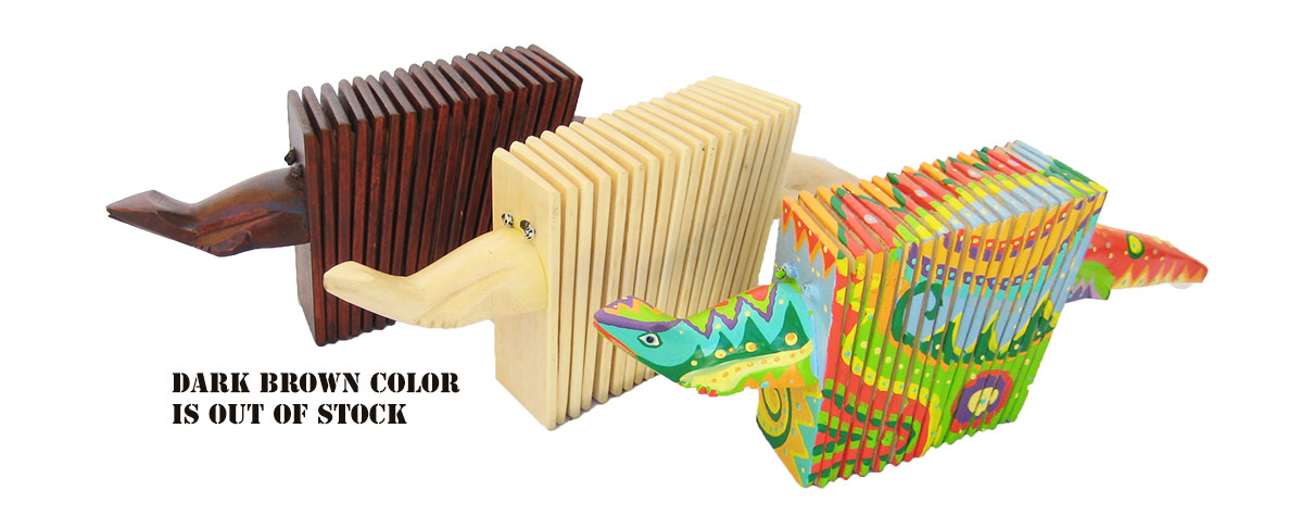 Lizard / Reptile Accordions & Animal Clapper