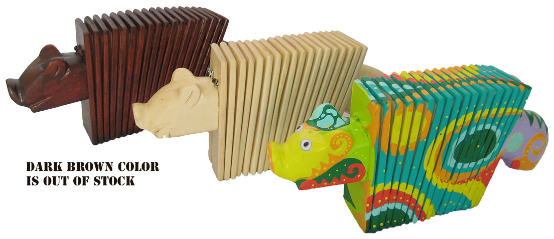 Pig Accordions & Animal Clapper
