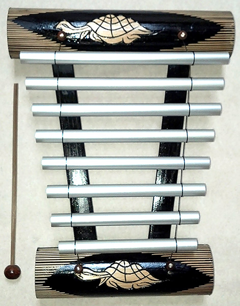 Gamelan Bamboo Chime Wooden Instrument